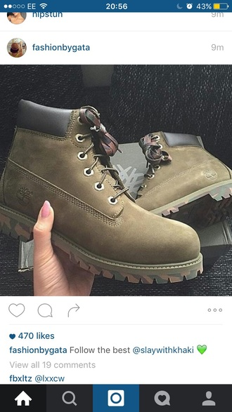 shoes timberlands green khaki army green boots