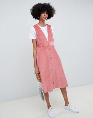 Max & Co Corduroy A-Line Dress at asos.com