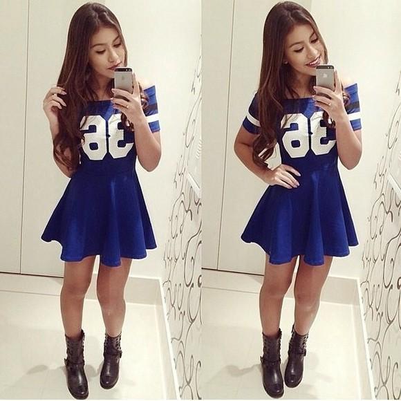 dress blue dress sexy dress party dress