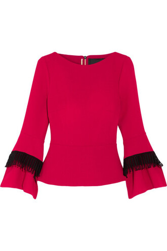 top wool red
