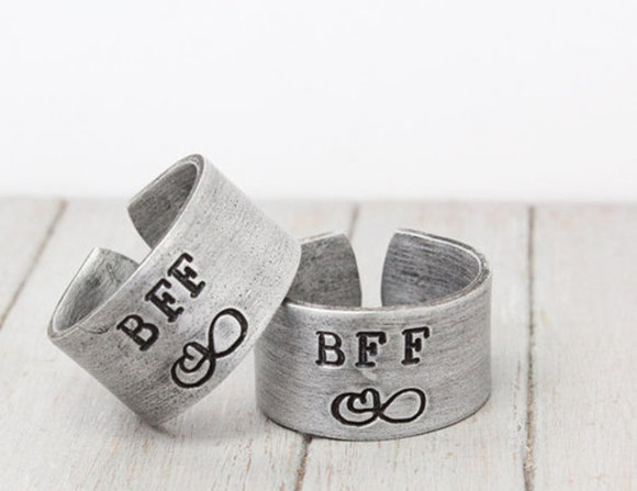 friends jewels best bff rings