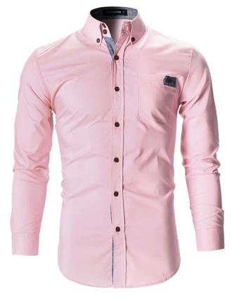 shirt pink shirt pink menswear slim