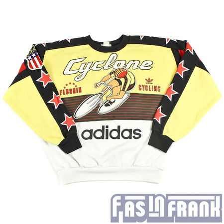 Adidas Cyclone Bicycle Sweatshirt | F as in Frank Vintage Clothing ($149.00) - Svpply