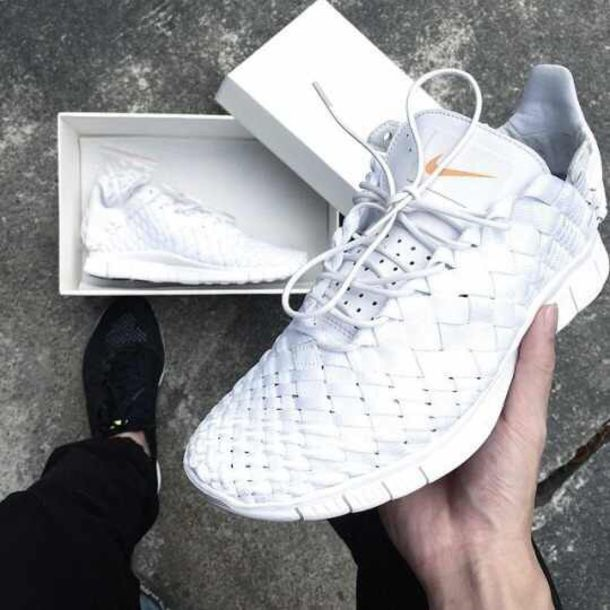 Nike Free Run Flyknit White