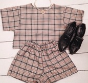 top,burberry women,style,coords,set