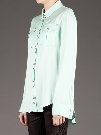 Balmain Button Detail Blouse  - L'eclaireur - Farfetch.com