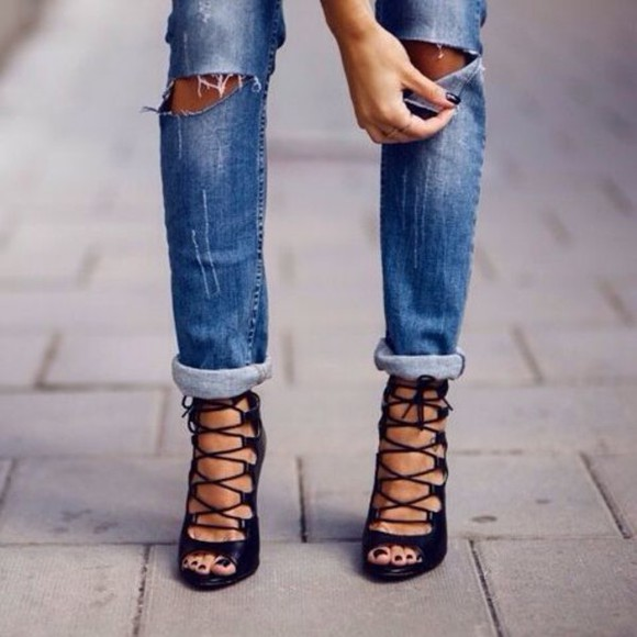 shoes high heels streetstyle