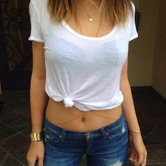 jewels jewelry gold gold jewelry gold body chain body chain kylie jenner jewelry accessories summer summer accessories