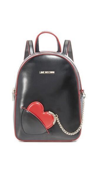 love backpack black bag