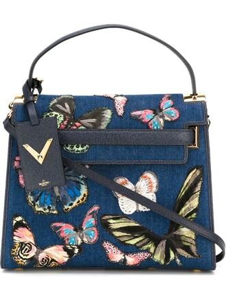 denim women blue bag