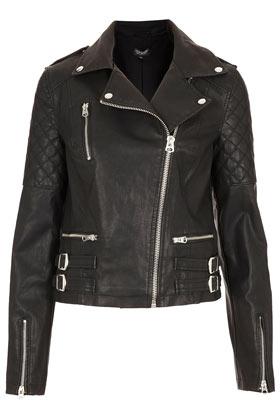 Biker Jacket - Jackets & Coats  - Clothing  - Topshop