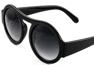 black sunglasses shades eyewear glasses retro