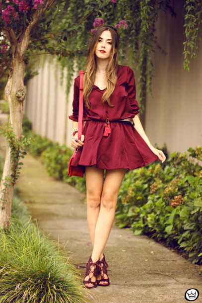 fashion coolture blogger red dress mini dress strappy sandals