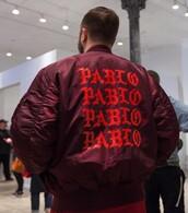 coat,kanye west,bomber jacket,burgundy
