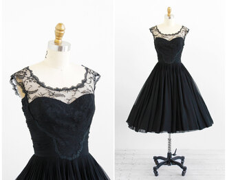 dress audrey hepburn black dress