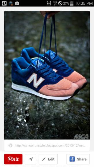 trainers new balance orange
