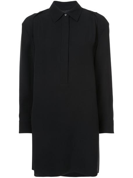 Alexander Wang dress shirt dress women black silk