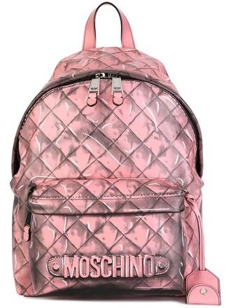 backpack purple pink bag