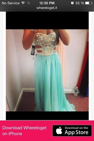 dress blue dress fashion sparkly dress glitter dress