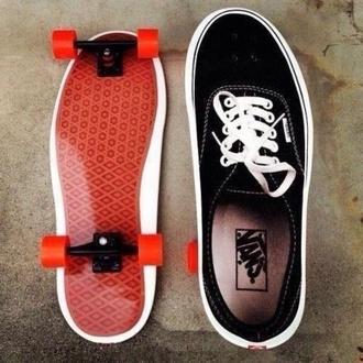 shoes skate board vans vans sneakers