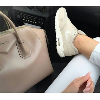 shoes nike beige nude sneakers