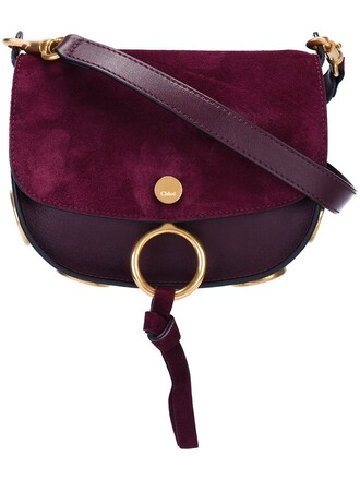 bag shoulder bag purple pink