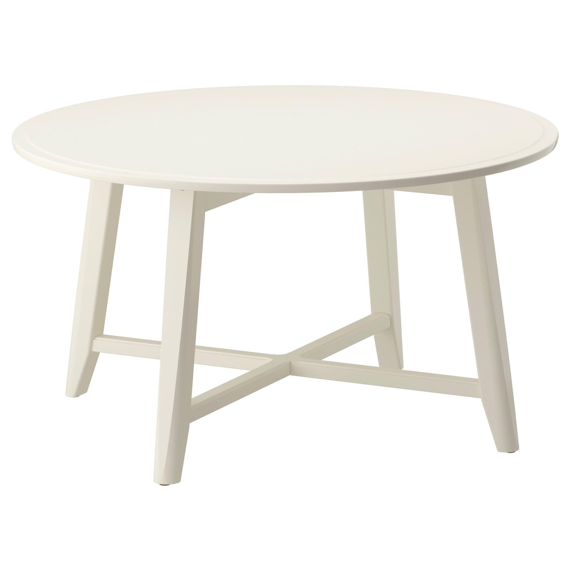 KRAGSTA Coffee table White 90 cm - IKEA