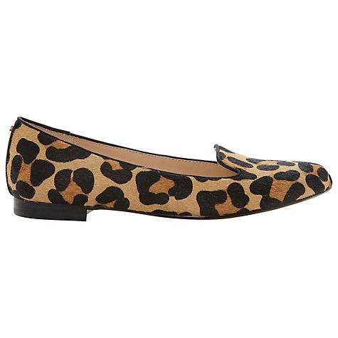 Buy Dune Limbo Pony Print Loafers, Leopard | John Lewis