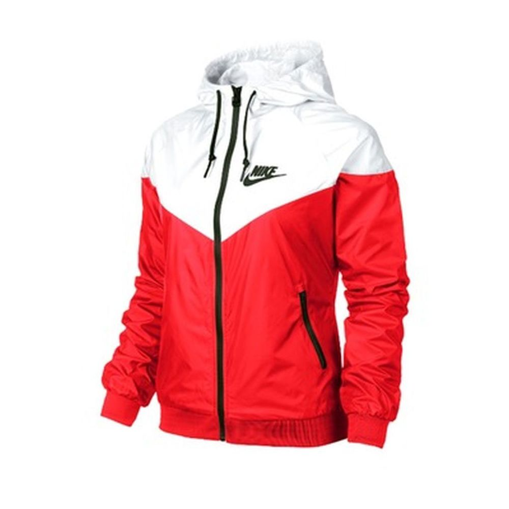 on sale 5b52b ec319 Nike WindRunner Asian Sizes Women s Jacket Windbreaker Red   White 545909  647