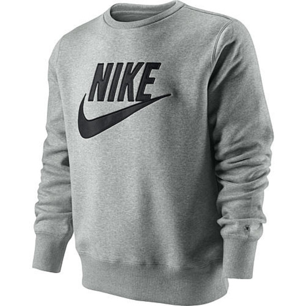 sweater nike pullover grey vintage blogger hipster. Black Bedroom Furniture Sets. Home Design Ideas