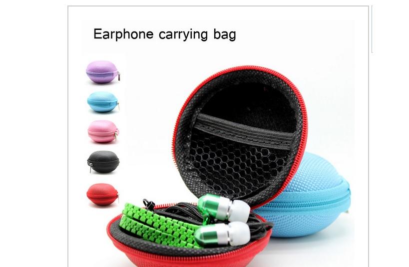Zipper earphones earphone case · emporium 17 · online store powered by storenvy