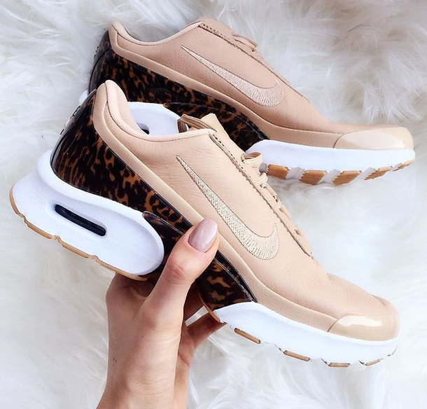 new style 52c8d 29bfe shoes sneakers womens nike shoes animal print beige nike nike shoes nike  shoes with leopard print