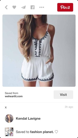 romper white dress dress boho dress bohemian