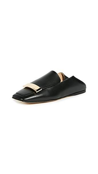Sergio Rossi flats black shoes