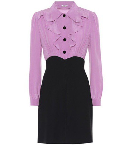 Miu Miu dress silk