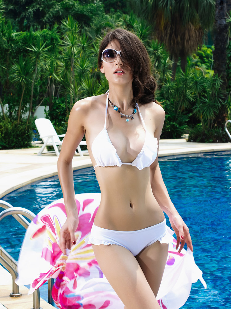 Aliexpress.com : Buy  Free shipping2014 new white tassel fission sexy swimsuit bikini swimsuit from Reliable swimsuit sarong cover up suppliers on Dora Sweet Shop