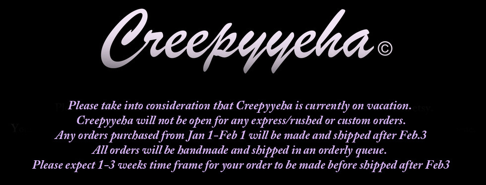 Home · CREEPYYEHA · Online Store Powered by Storenvy