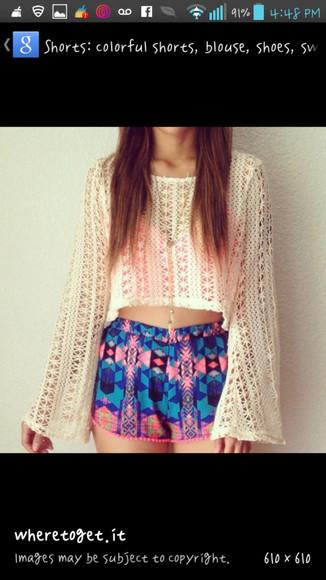 t-shirt cardigan blouse