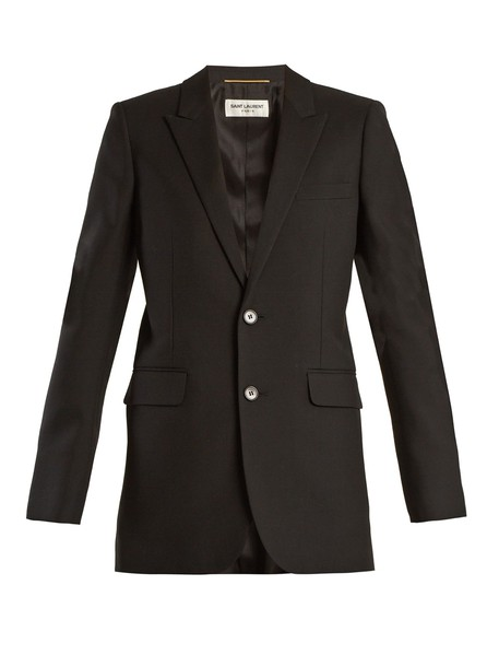 Saint Laurent jacket wool jacket wool black