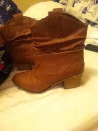 shoes western heel