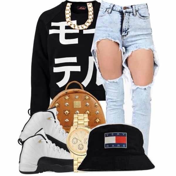 shirt jeans hat
