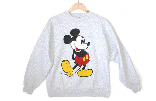 Disney Mickey Mouse Vintage 90s Sweatshirt Women's MediumLarge (ML) $25 The Ugly Sweater Shop on Wanelo