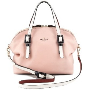 Kate Spade New York Pink Champagne Waverly Street Drew Satchel - Sale