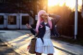 meri wild,blogger,dress,jacket,shoes,jewels
