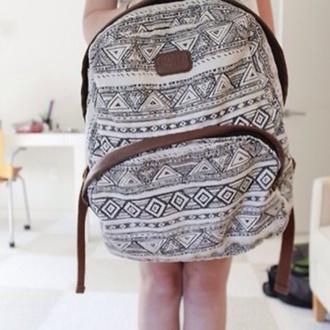 hipster bag cute backpack iloveit make-up