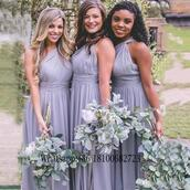 dress,long bridesmaid dress,2017 bridesmaid dress,custom made bridesmaid dress,african arabic wedding bridal gown,chiffon bridesmaid dress for wedding,a line bridesmaids dresses,plus size bridesmaids dresses