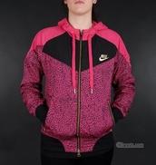 1c6a4de4a4 Nike Pink Jacket - Shop for Nike Pink Jacket on Wheretoget