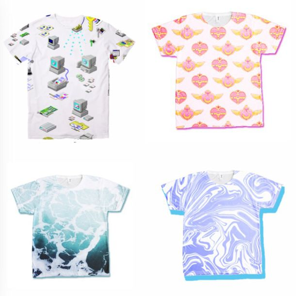 e1d6a63161f5 t-shirt, top, t-shirt, tumblr, grunge, aesthetic, kawaii, anime ...