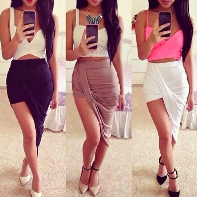 Irregular fashion skirts sc728fj