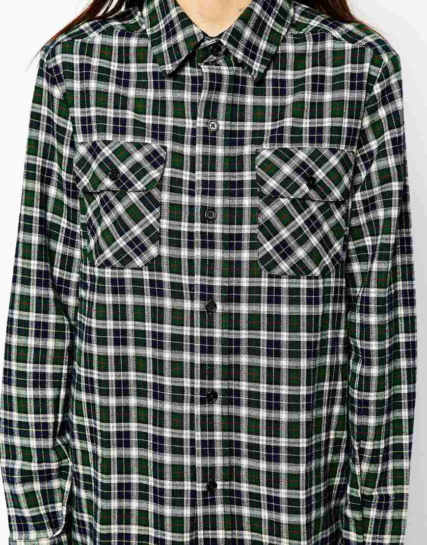 Pop boutique check shirt at asos.com